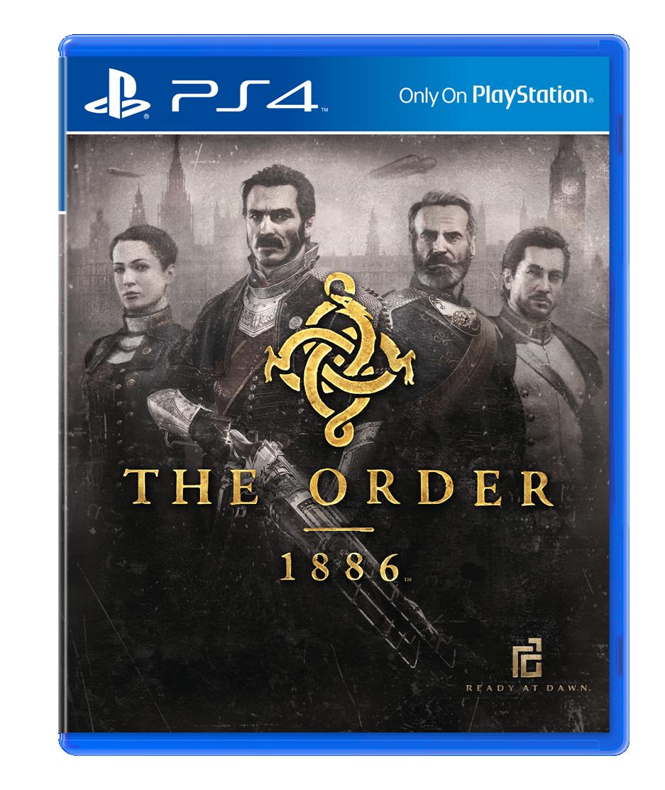 So sieht das Boxart Design von The Order 1886 aus