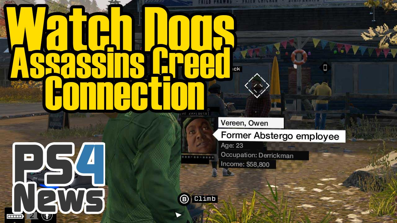 Die Watch Dogs Assassins Creed Connection