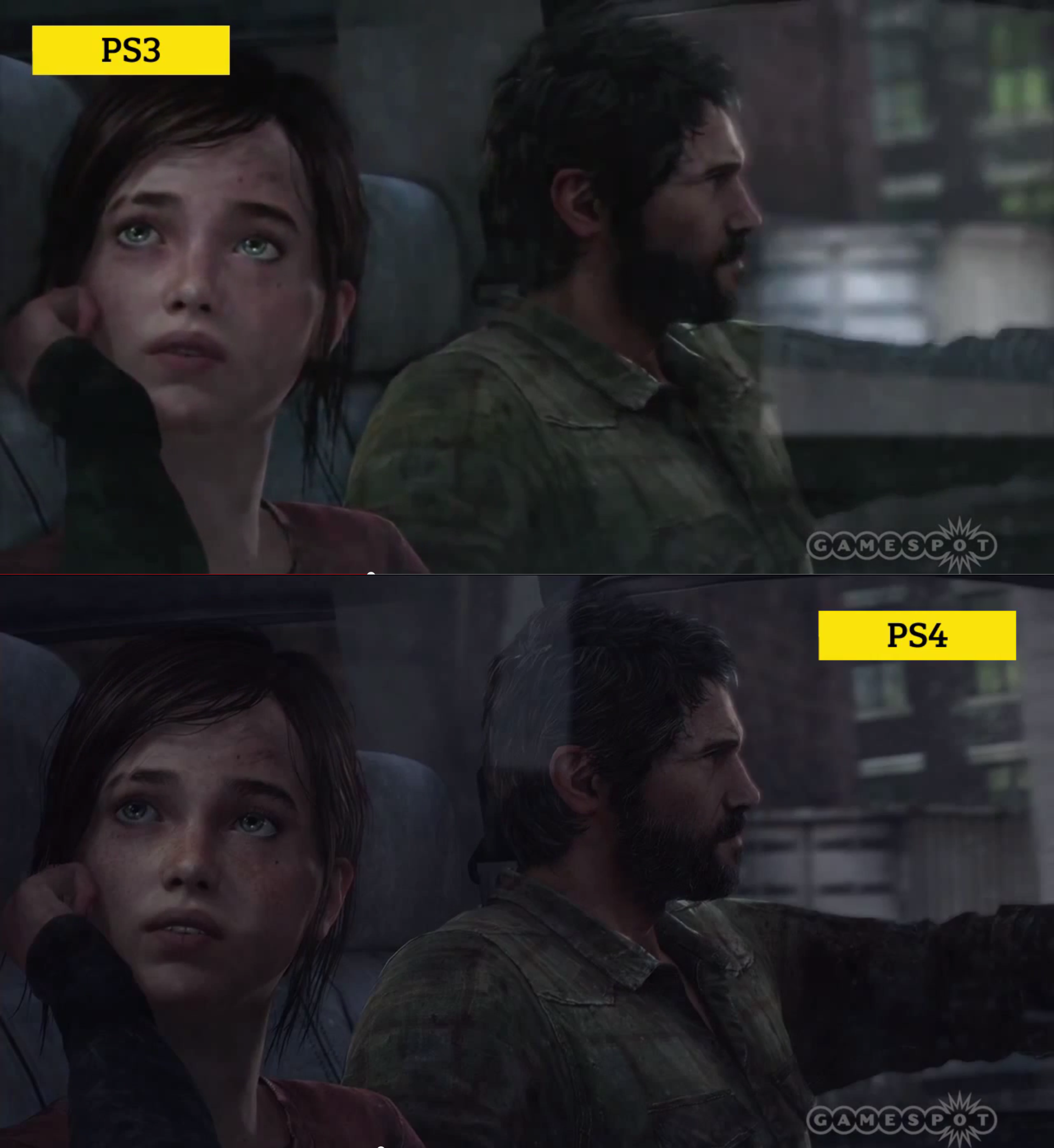 The Last of Us Grafikvergleich PS4 vs. PS3