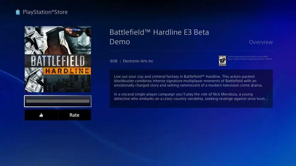 Battlefield Hardline Beta jetzt herunterladen