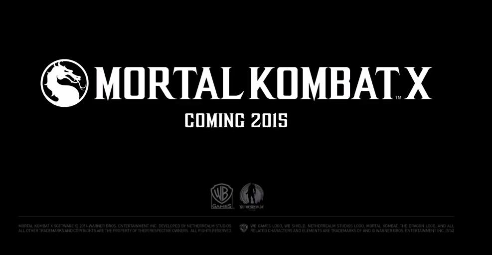 Mortal Kombat X ab April für PlayStation 4