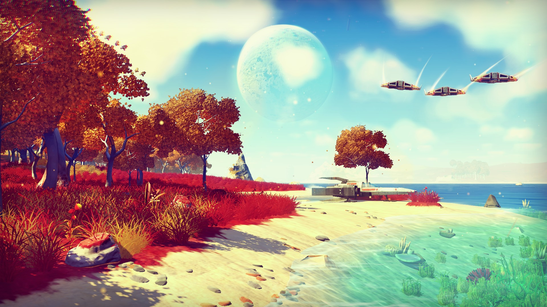 No Man's Sky Story Gameplay und Multiplayer-Modus erklärt