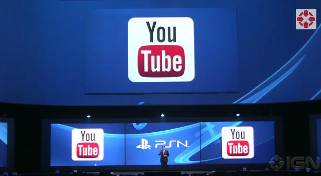 YouTube Upload über PlayStation 4 noch in diesem Jahr
