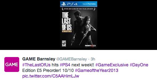 The Last of Us für PS4 schon nächste Woche im Handel erhältlich?