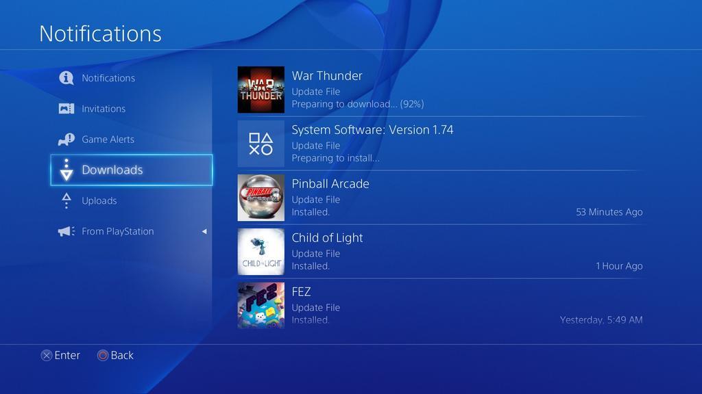 PlayStation 4 System Update 1.74 ab sofort verfügbar