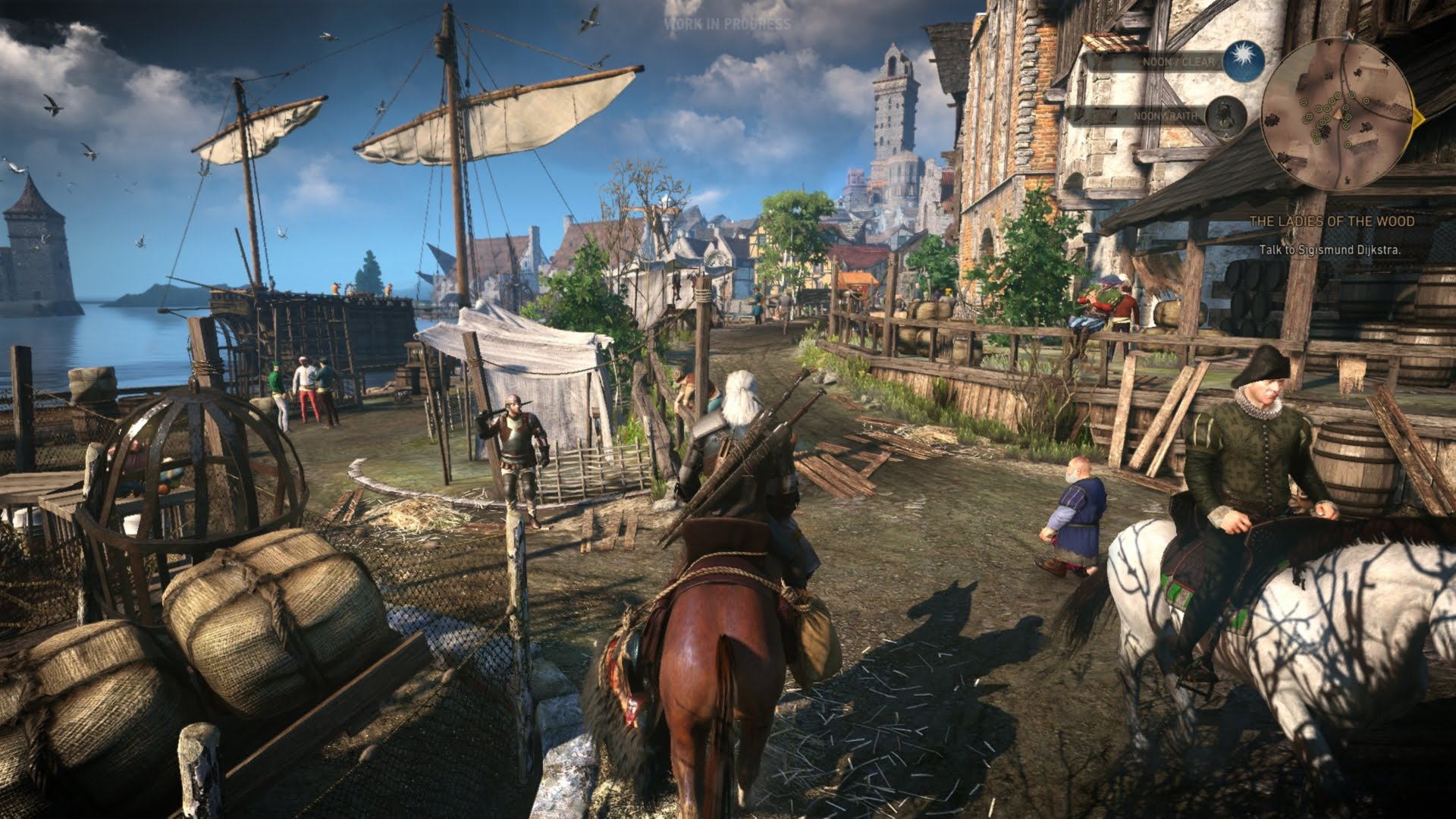 35 Minuten Gameplay Video zu The Witcher 3 Wild Hunt