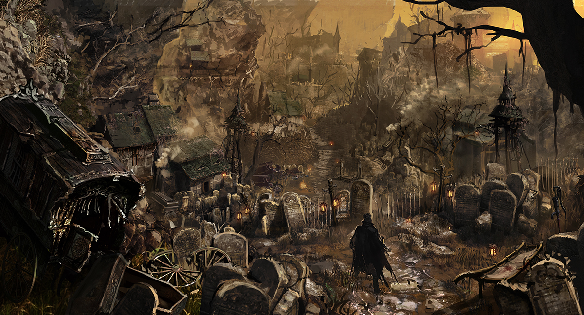 Bloodborne Screenshots zu Location, Waffen und Monstern