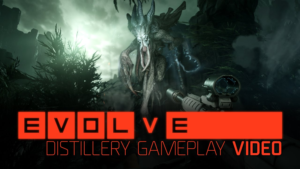 Gamescom 2014: Evolve Distillery Gameplay