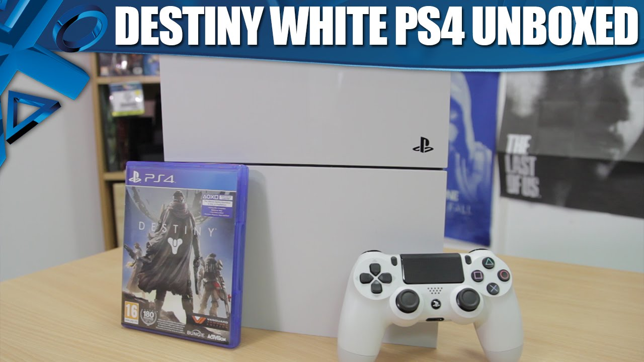 PlayStation 4 Destiny Bundle Unboxing Video