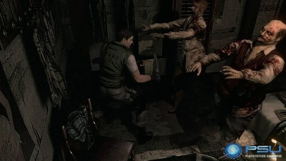 Resident Evil HD präsentiert sich auf neuen Screenshots