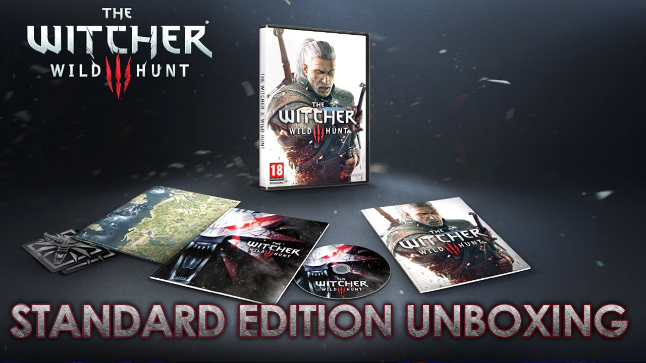 The Witcher 3 Wild Hunt Standard-Edition Unboxing