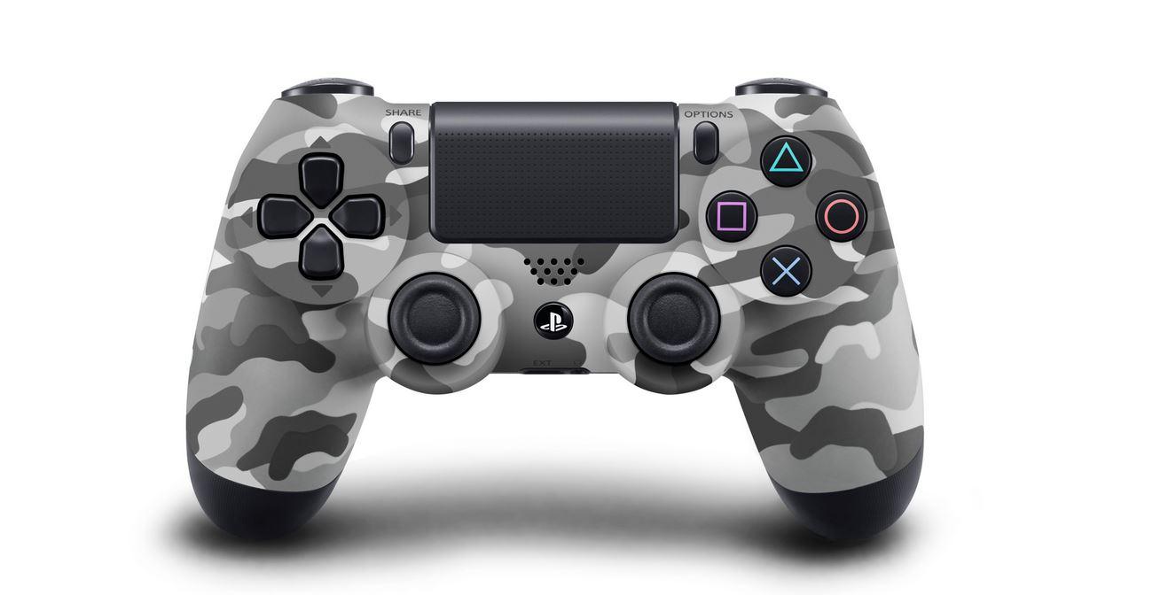 DualShock 4 Controller ab Oktober in Glacier White und Camouflage