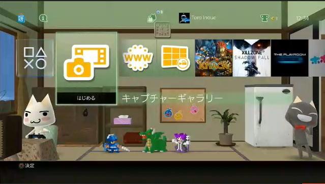 PlayStation 4 Dashboard ab System-Version 2.0 mit Theme-Unterstützung
