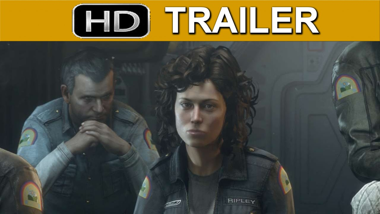 Alien Isolation in the Vents Gameplay-Trailer