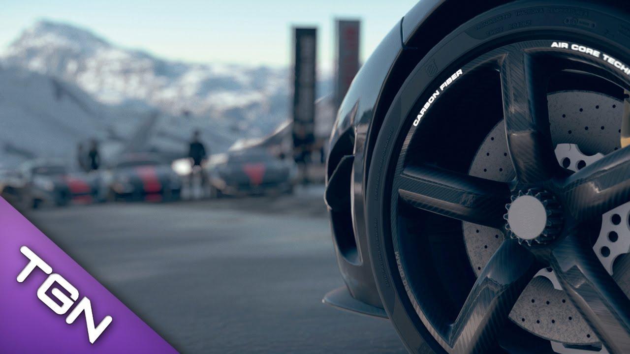 DriveClub Gameplay-Video mit Schnee