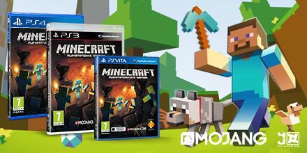 Minecraft ab 3. Oktober auch im Handel erhältlich