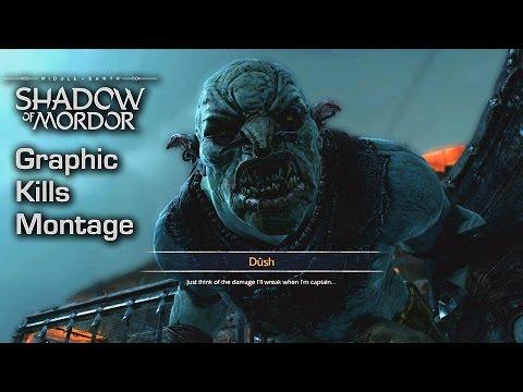 Mittelerde Mordors Schatten Gameplay Trailer