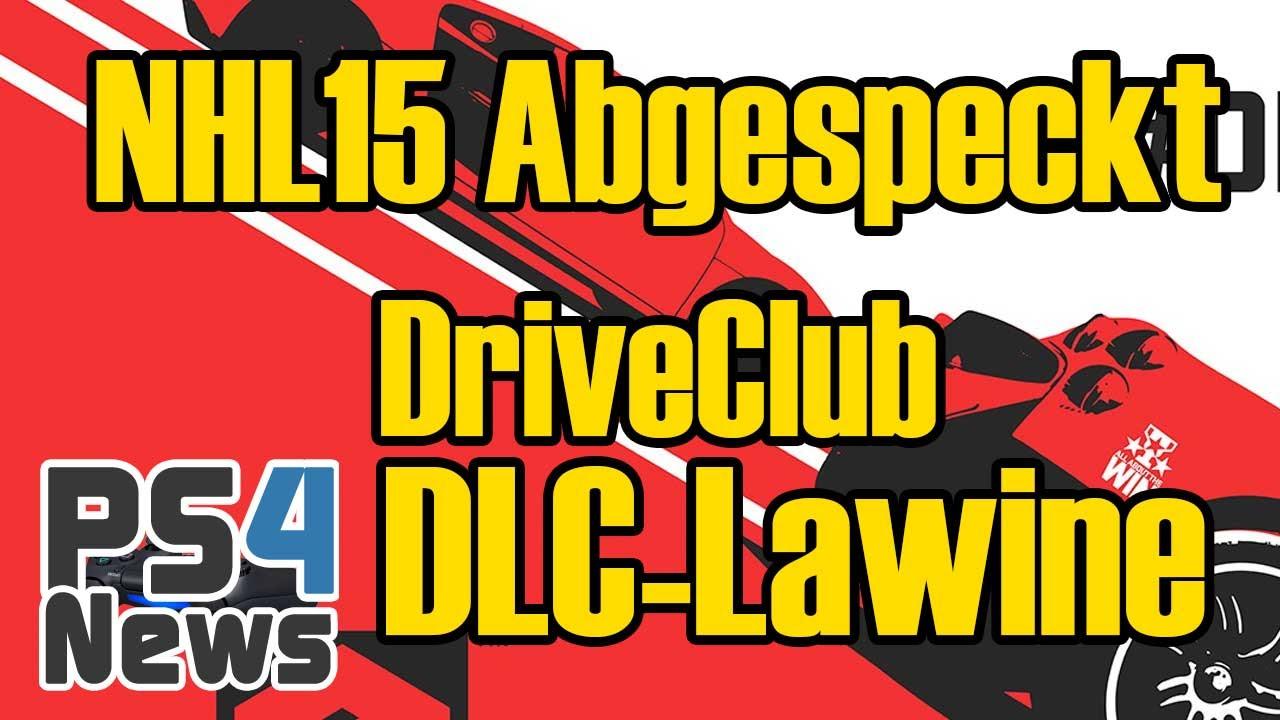 NHL 15 abgespeckt und die DriveClub DLC-Lawine