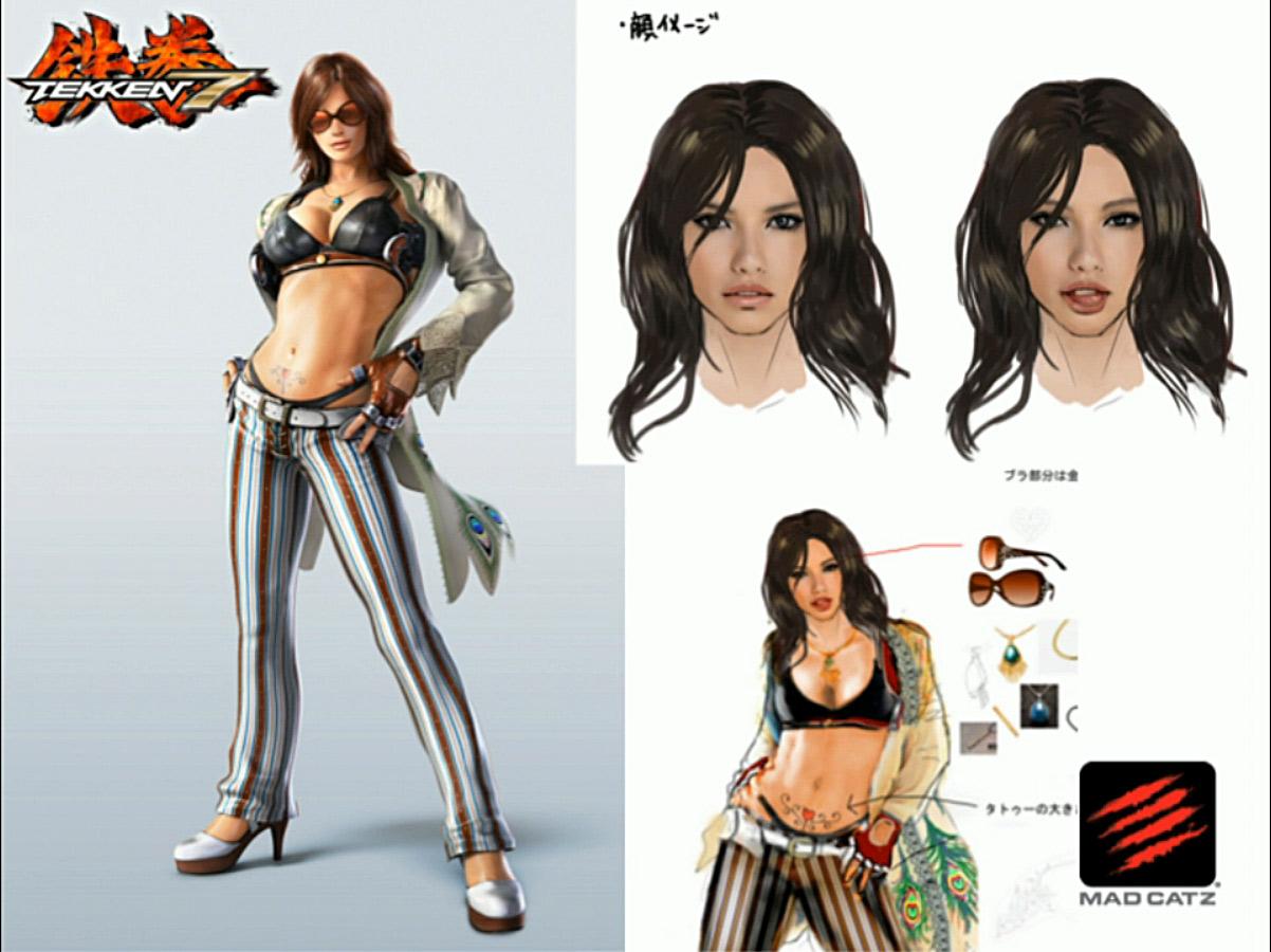 """Tekken 7: So sieht die neue Kämpferin """"Catalina"""" aus"""