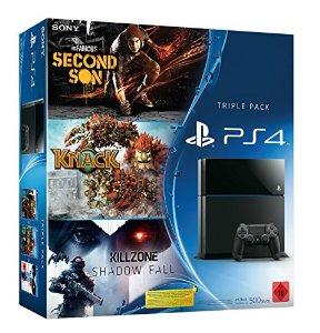 PlayStation 4 Big-Bundle Aktion mit drei Spielen für 399 Euro bei Amazon
