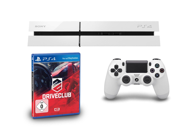 DriveClub PS4 Bundle mit Glacier White Konsole für 399 Euro