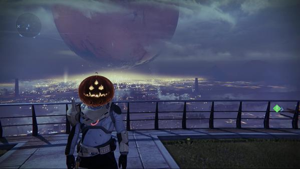 Random Time: Halloween Helm in Destiny gesichtet