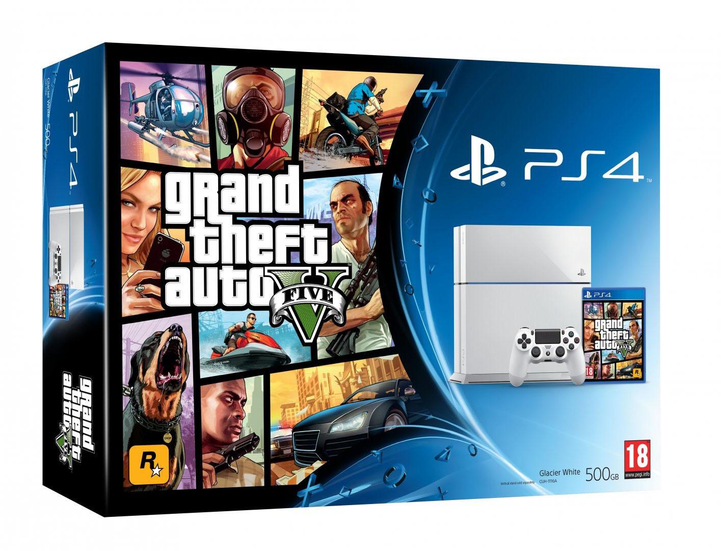 GTA 5 PlayStation 4 Bundle jetzt für 429 Euro