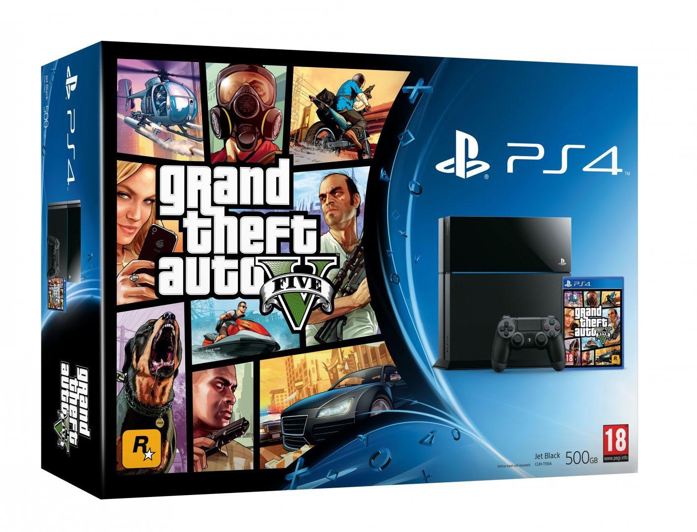 GTA 5 PS4 Bundle jetzt um 399 Euro bei Amazon