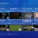 Live from PlayStation - Mini player while searching for broadcast