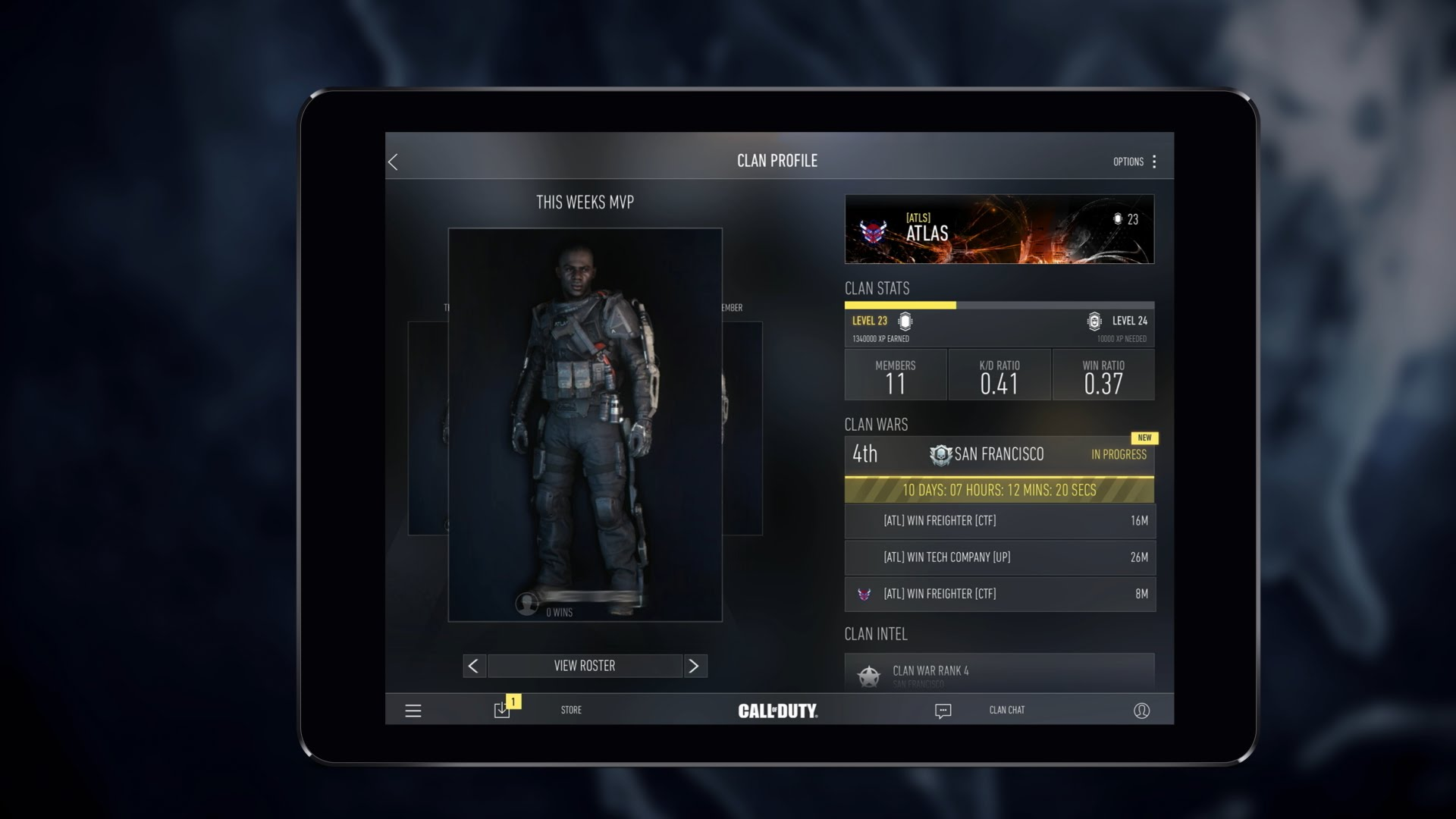 Call of Duty Advanced Warfare Companion-App Trailer