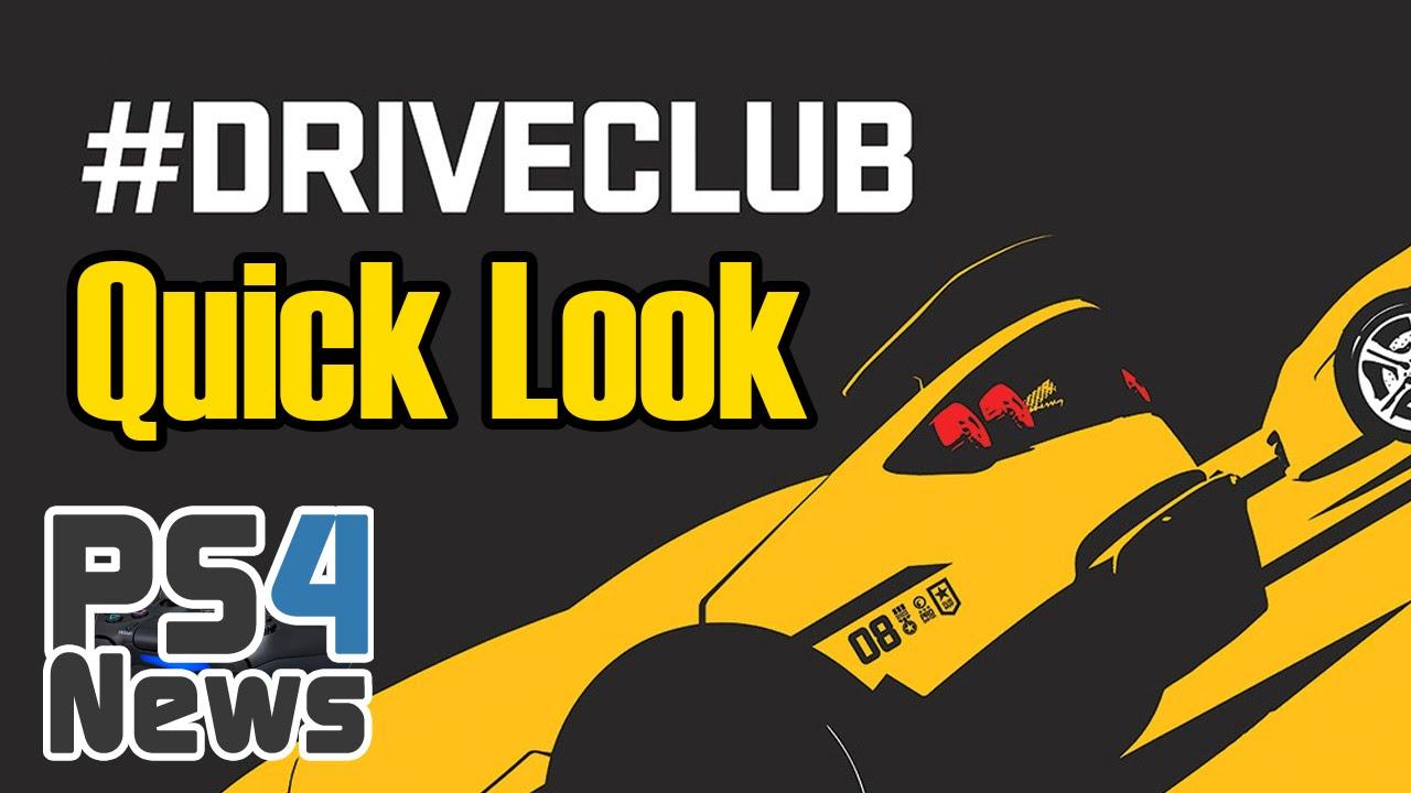 DriveClub Quick Look