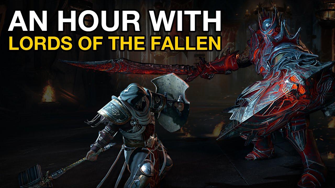 Eine Stunde Lords of The Fallen Gameplay auf der PS4