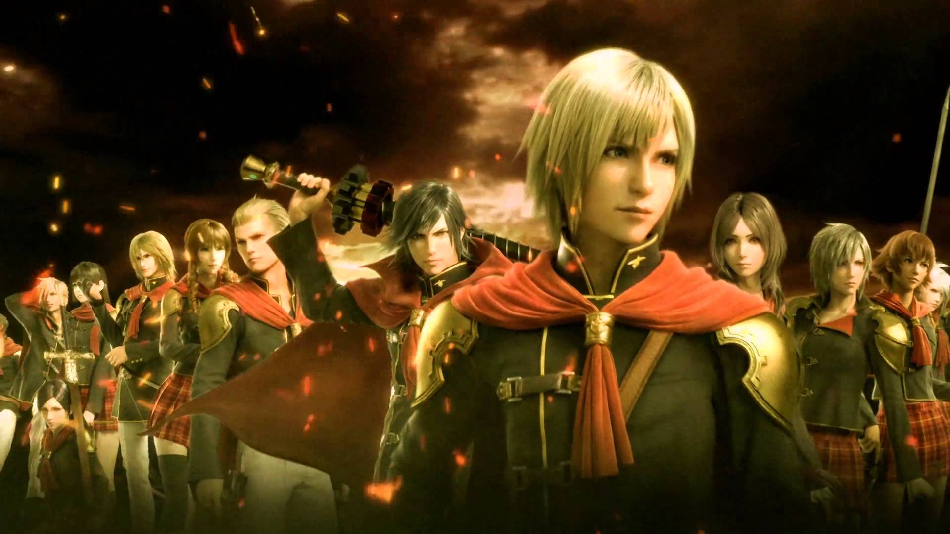 Final Fantasy Type-0 HD Off-Screen Gameplay
