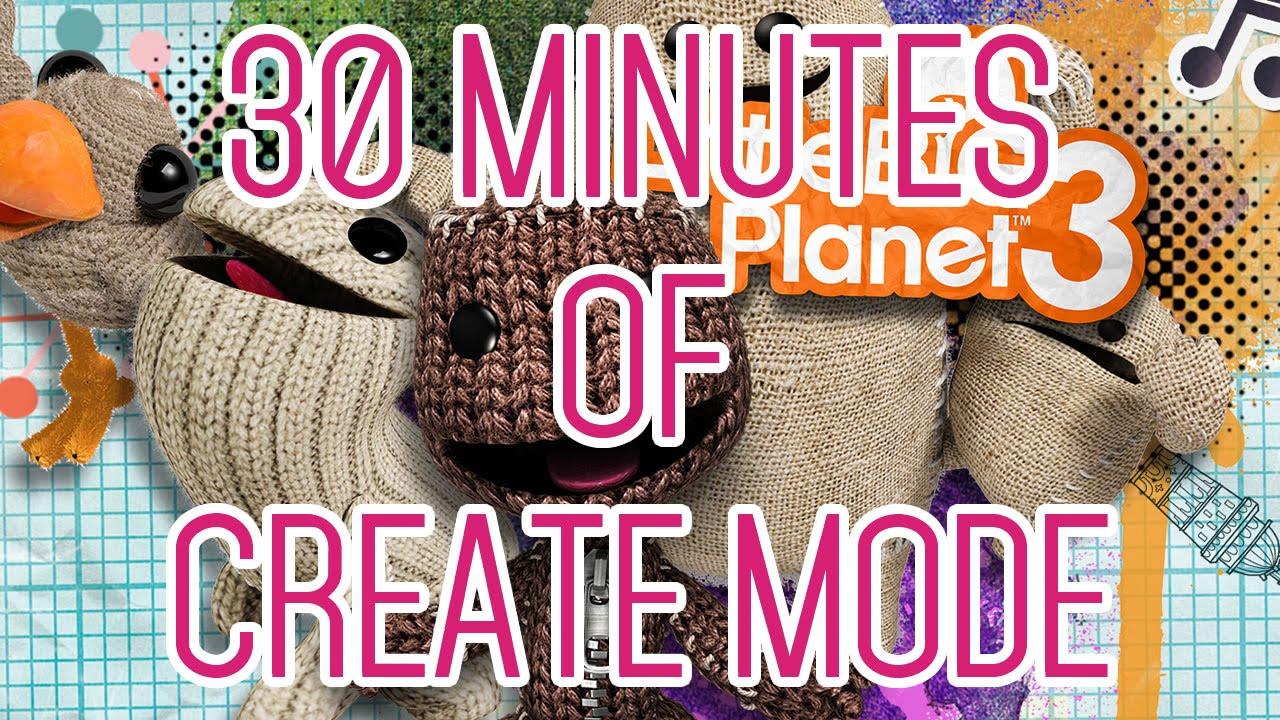 LittleBigPlanet 3 – 30 Minuten im Editor