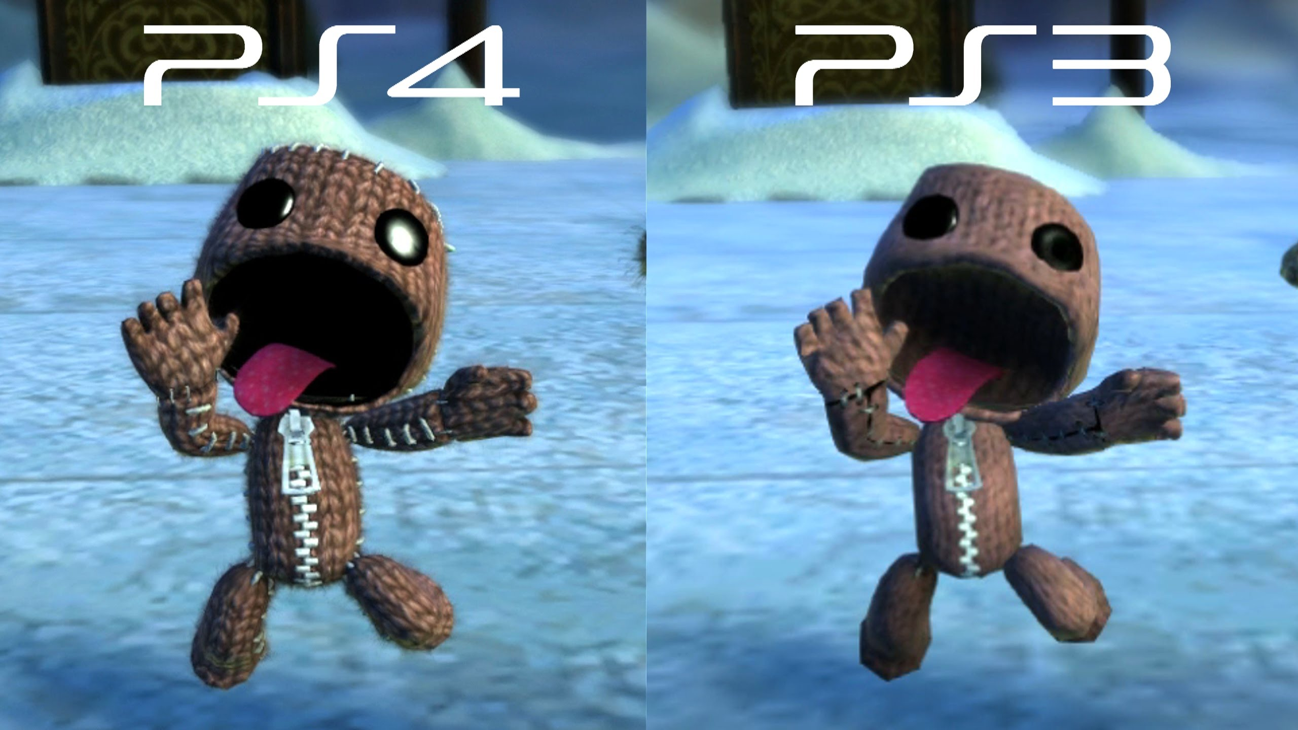 LittleBigPlanet 3 PlayStation 3 vs. PlayStation 4 Version
