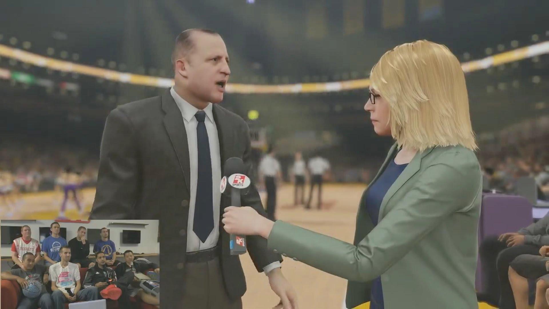NBA 2K15 PS4 Bulls vs. Lakers 48 Minuten Gameplay