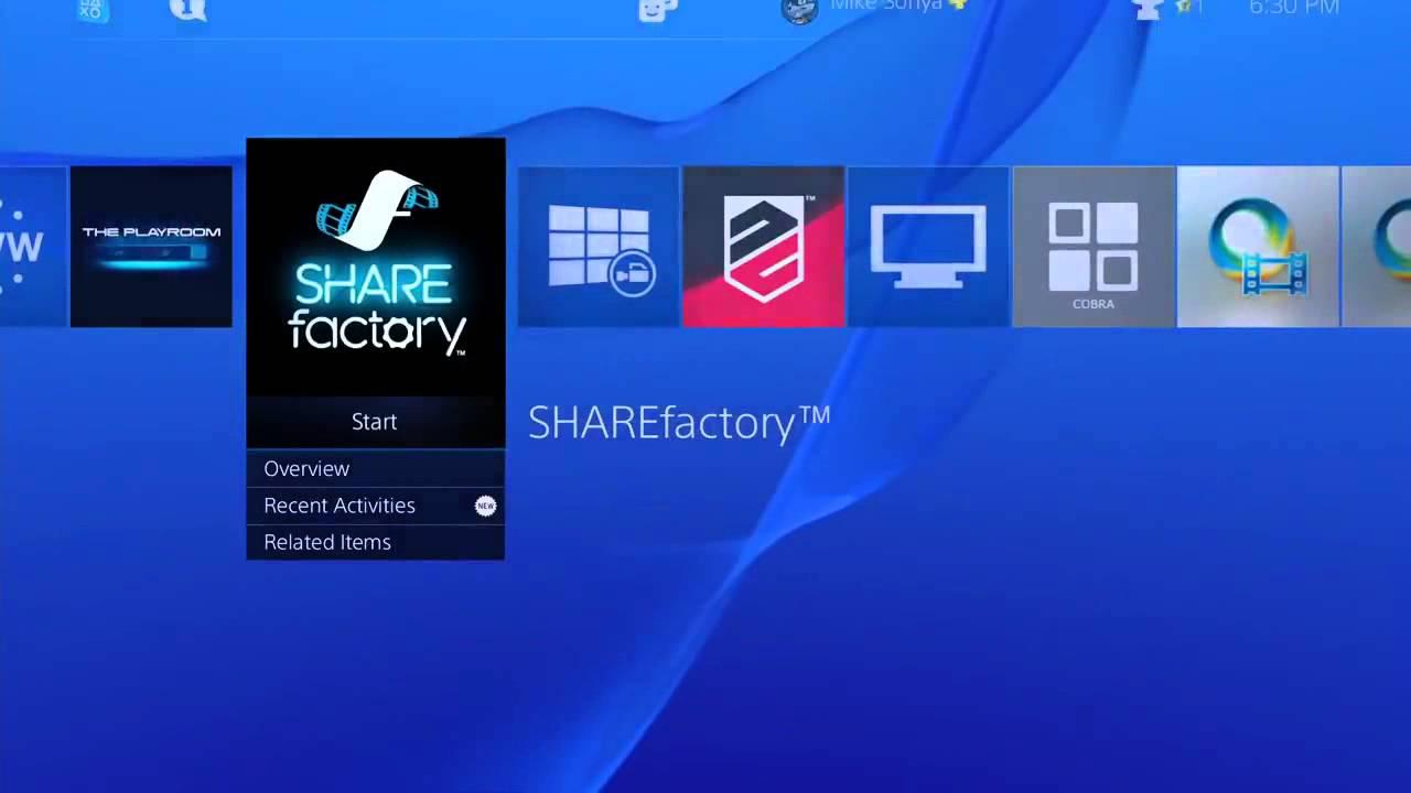 PlayStation 4 Firmware 2.0 die Features in der Übersicht