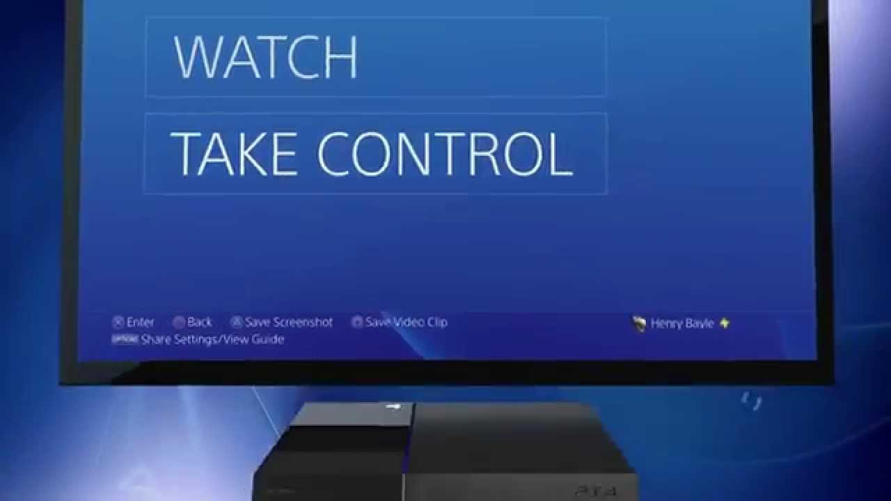 PlayStation 4 SharePlay im Video vorgestellt und erklärt
