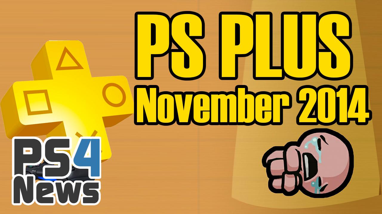 PS Plus November 2014 Neuheiten