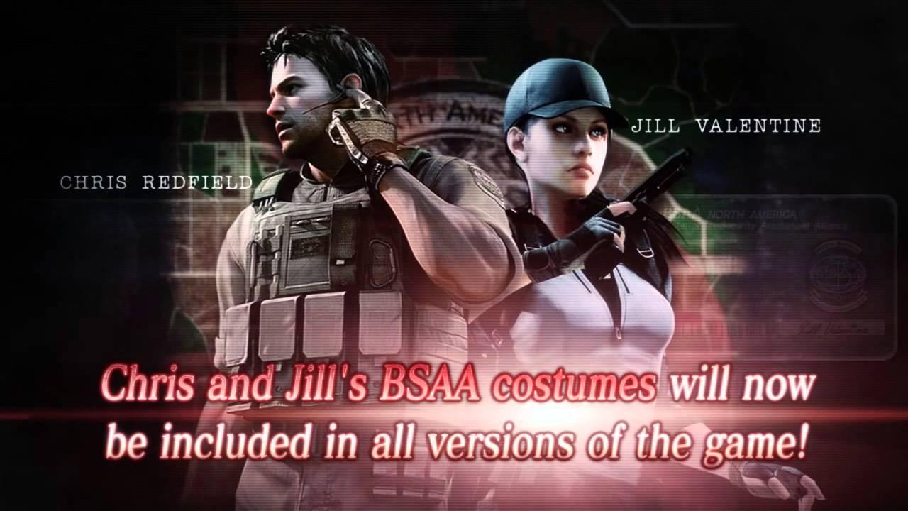 Resident Evil HD BSAA Kostüm-Trailer