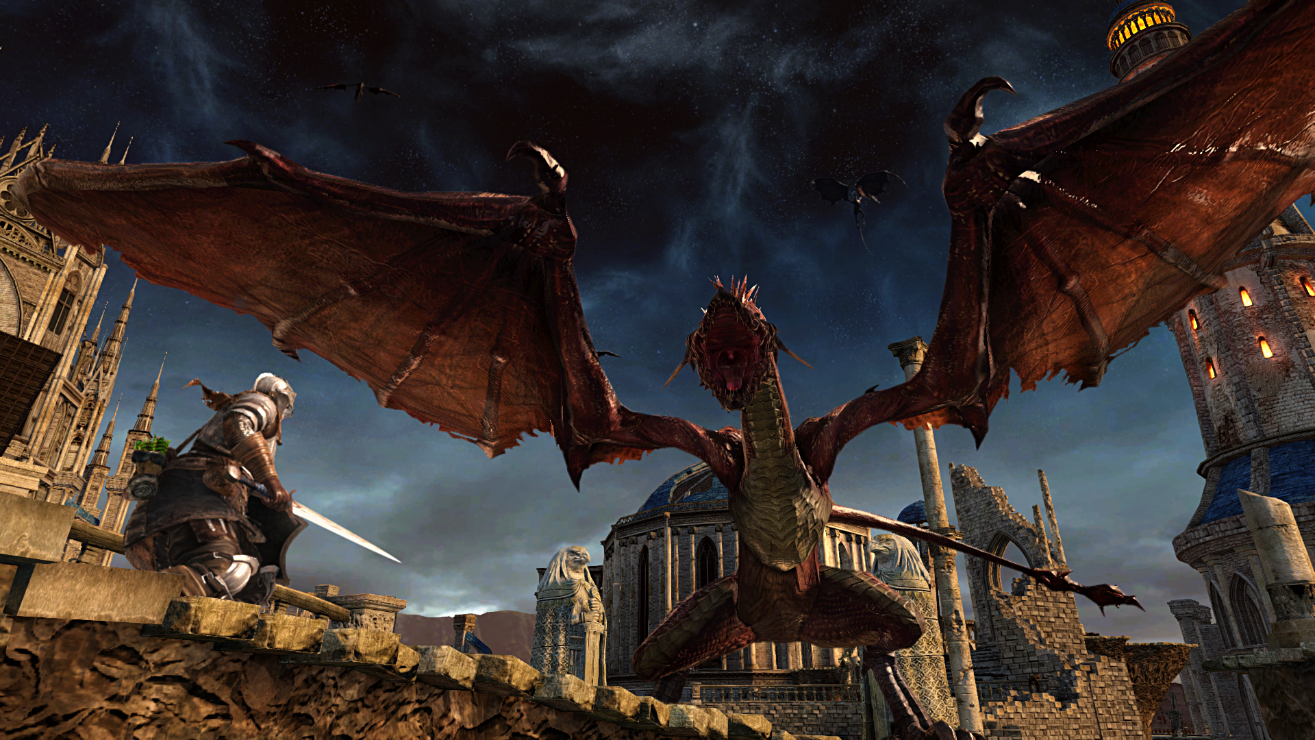 Dark Souls 2 PS4: Screenshots Packshots und ein Artwork
