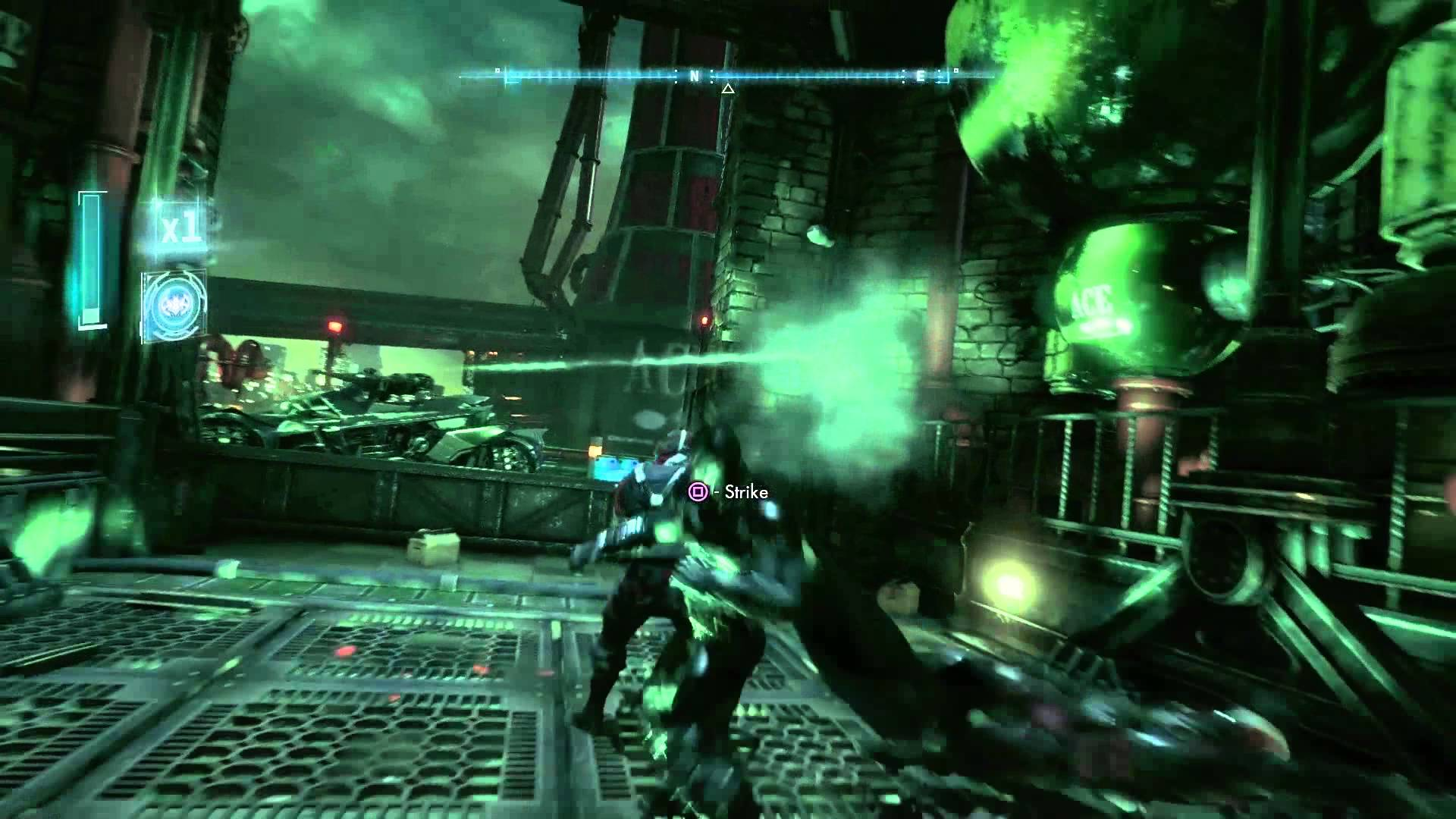 Batman Arkham Knight Gameplay-Trailer zeigt Infiltrations-Mission