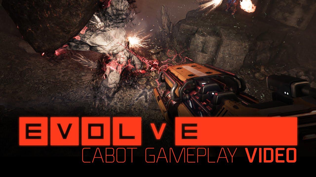 Evolve Gameplay-Video zeigt Cabot