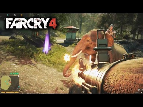 Far Cry 4 Multiplayer PVP Gameplay