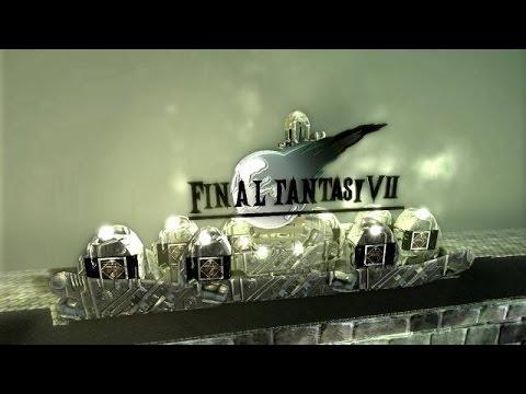 Final Fantasy 7 in LittleBigPlanet 2 nachgebaut