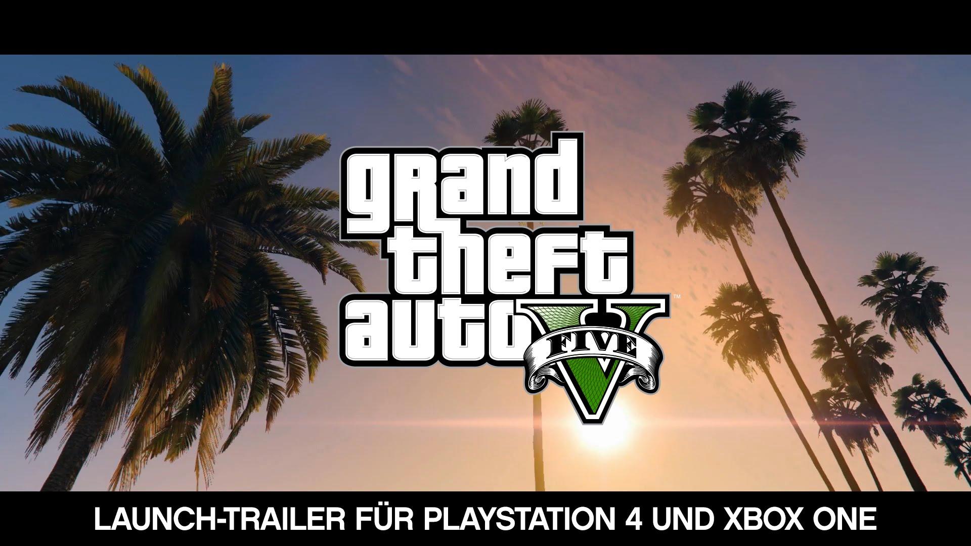 GTA 5 Launch Trailer veröffentlicht