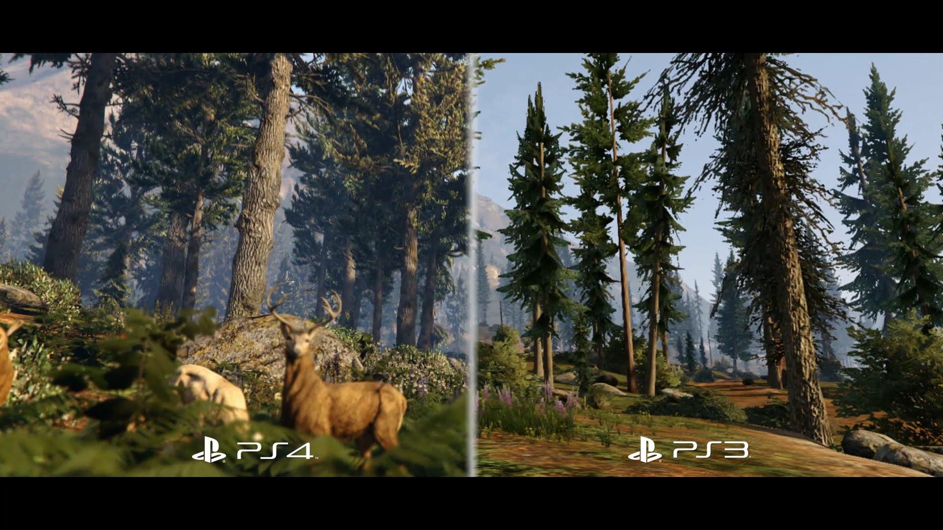 GTA 5 Vergleichsvideo zur PS3 und PS4 Version