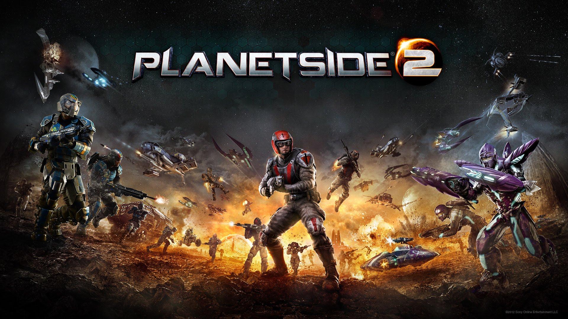 PlanetSide 2 PS4 Beta ab Mitte Dezember 2014