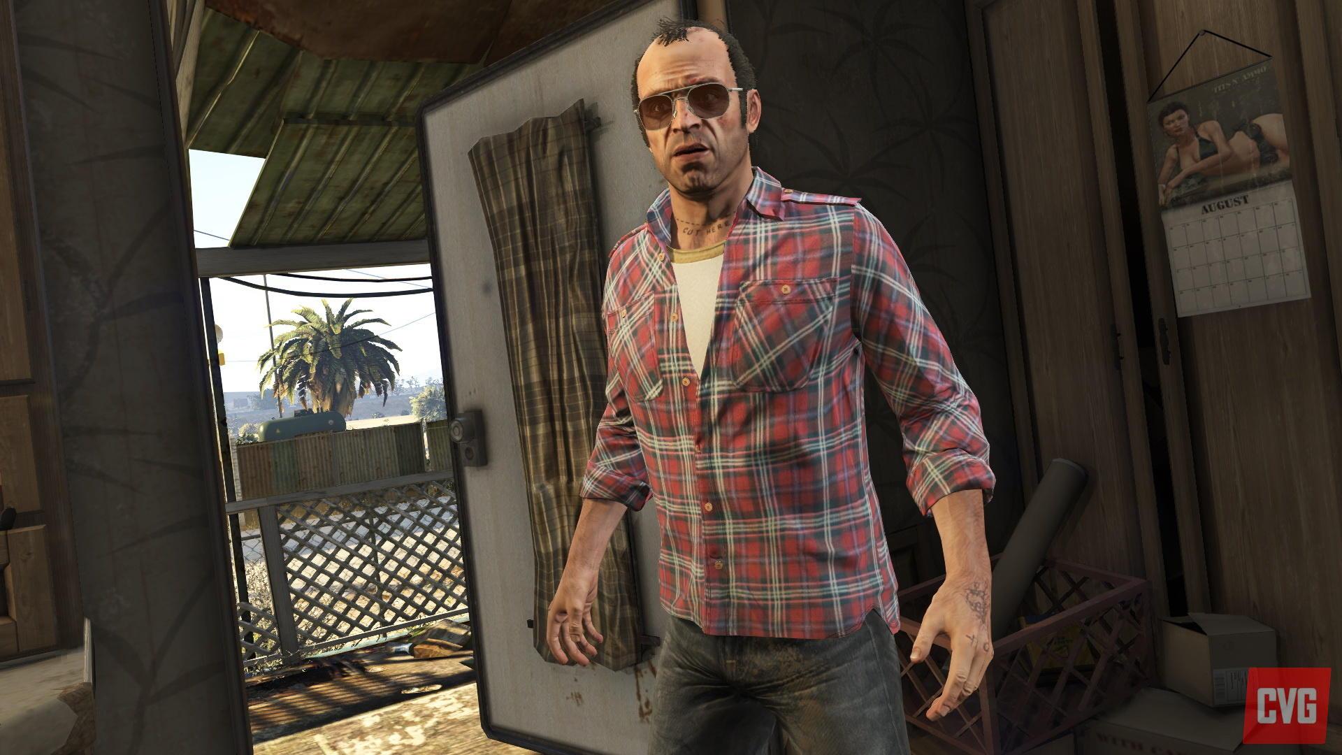 GTA 5 Screenshots aus der PS4-Version