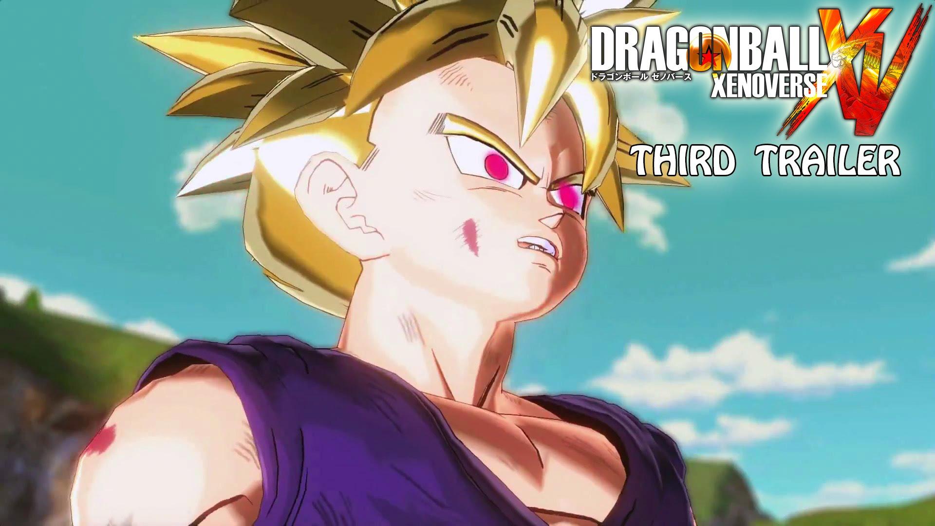Dragon Ball Xenoverse im dritten offiziellen Trailer